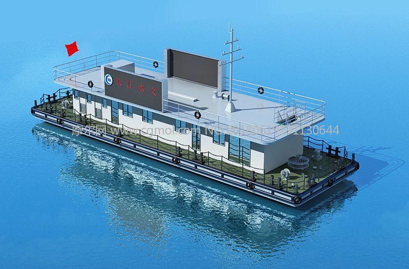 长江水文船,执法船