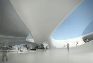 超现代商场一楼设计(网盘下载)