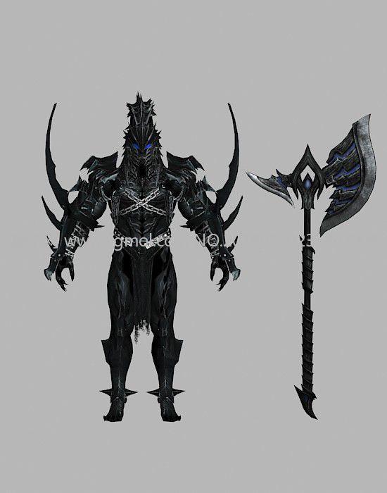 狂暴黑暗骑士游戏角色