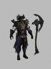 斧头海盗船长,高画质游戏角色