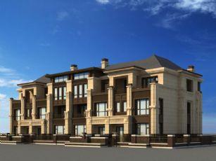 法式建筑�e墅