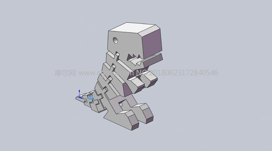 小暴龙3D打印部件