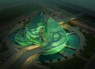 绿色生态世博馆设计