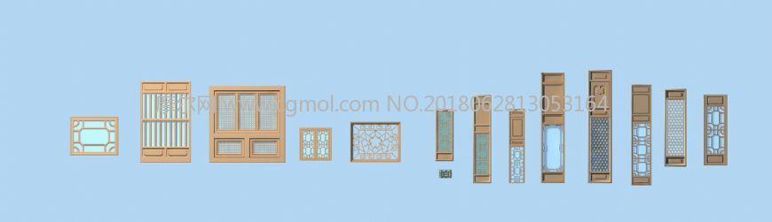 古建门窗集合