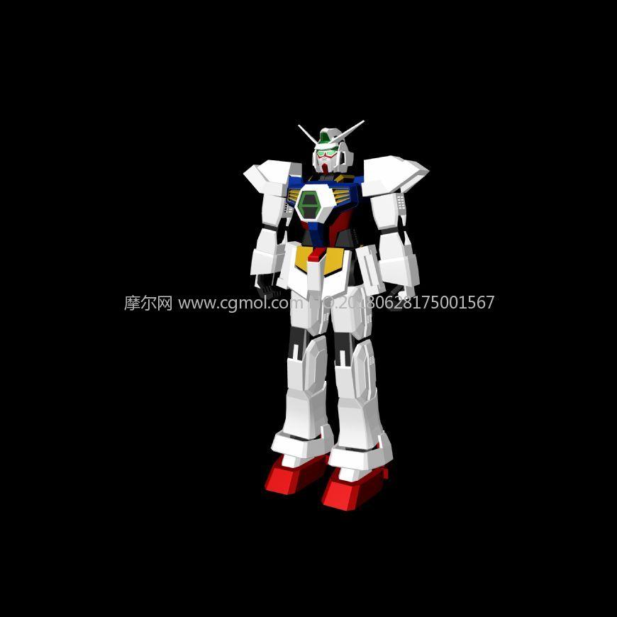 高达,敢达,变形金刚,机器人maya模型