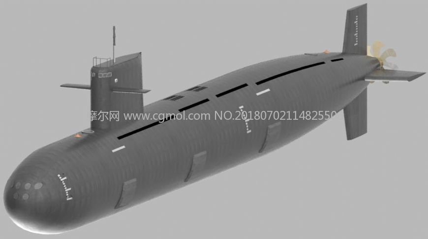 093潜艇军事模型