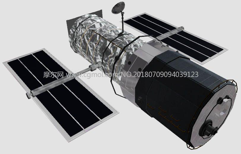 哈勃望远镜卫星模型