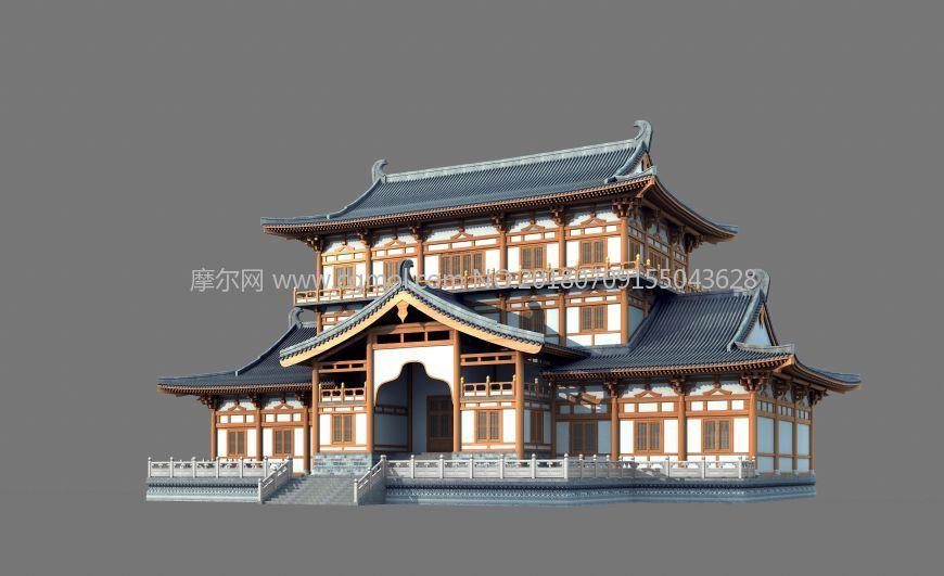唐式建筑,宫殿