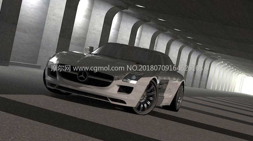 奔驰SLS AMG轿跑