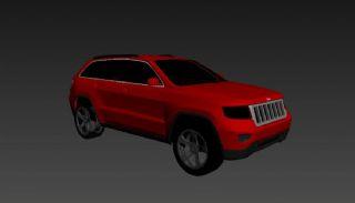 jeep大切诺基汽车max模型