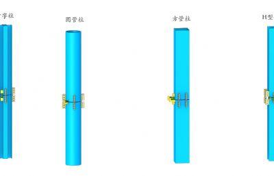 千斤��{整�柱max模型