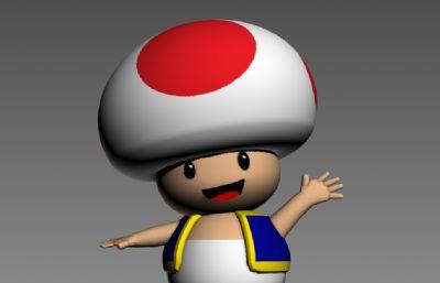 马里奥,磨菇人
