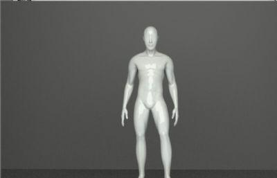 男人模特模型