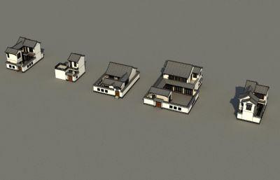 5款中式别墅