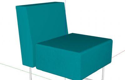 GAP椅子su模型