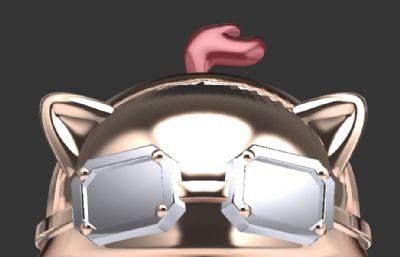 英雄联盟提莫头部-犀牛建模