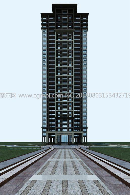 新亚洲风格建筑_新亚洲风格高层住宅建筑