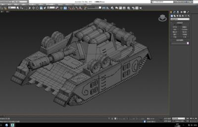 喷火坦克,火麒麟坦克max模型