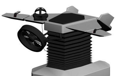 VR模拟飞行装置max模型