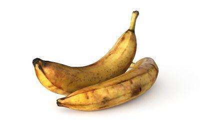 水果香蕉芭蕉,MAX,FBX,OBJ格式