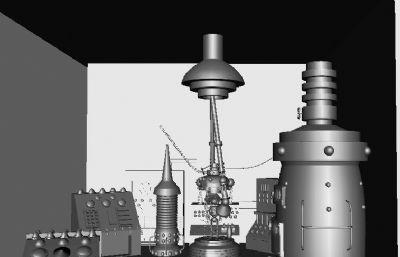 ���室,科�W���室maya模型