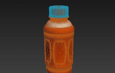 �I�B快��料瓶模型