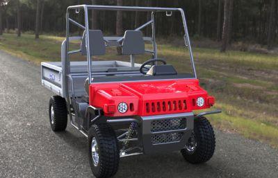 电动小车,电动农夫车模型