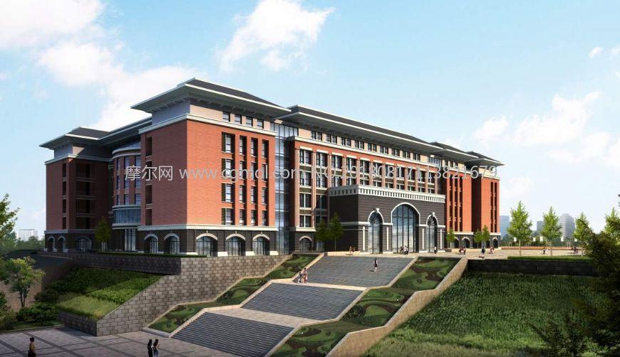 摩尔网 / 场景模型 / 现代场景 5306 6 报错 标签:学校图书馆教学楼图片