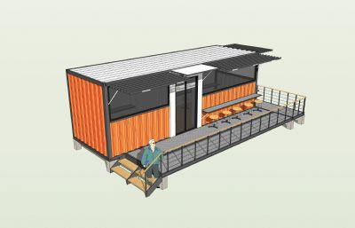集裝箱咖啡廳創意集成建筑