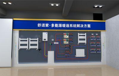 多能源暖通系�y模型