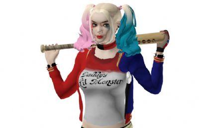 Harley Quinn哈莉奎因max模型