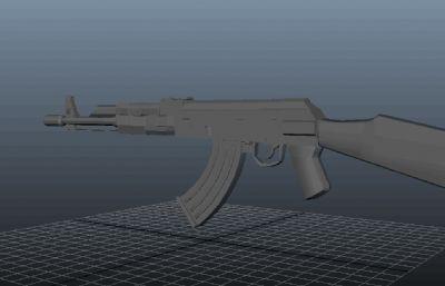 AK-47maya作品