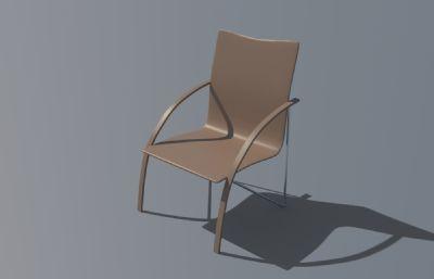 休�e椅,餐椅模型