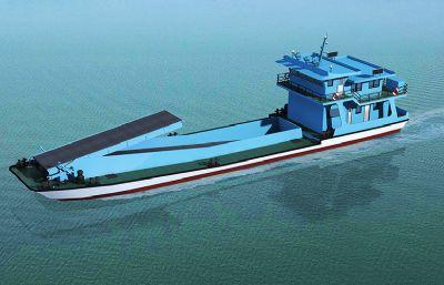 清漂运输船