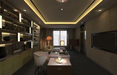 新中式��房,��客室