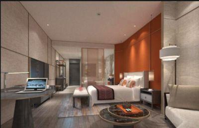 酒店大床房,大客房