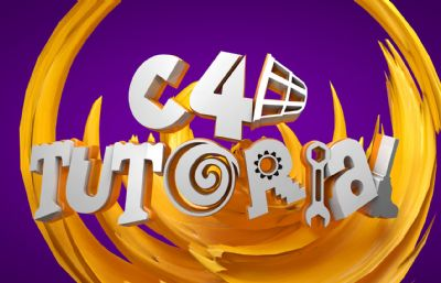 C4D教程字母��g字�w�O�