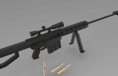 巴雷特狙擊槍SW模型