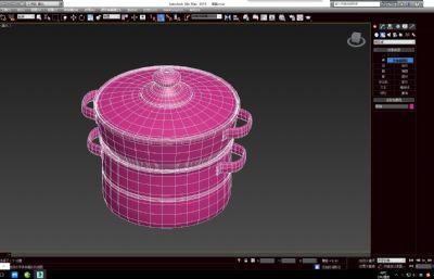 蒸�max3D模型