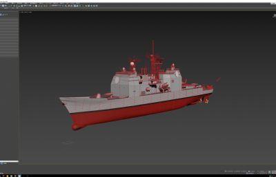 提康德�_加�巡洋�,�逐�max模型