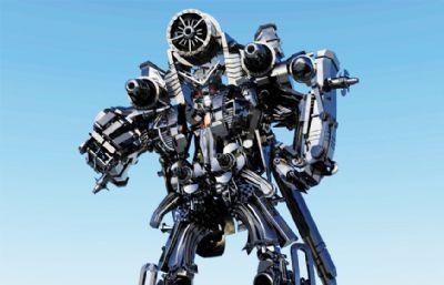 �鸲�C器人,�形金��