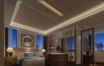 古典风酒店客房