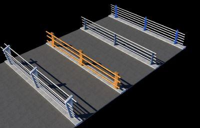道路栏杆,桥梁栏杆