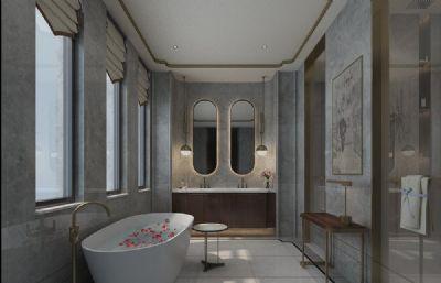 中式古典洗浴�g