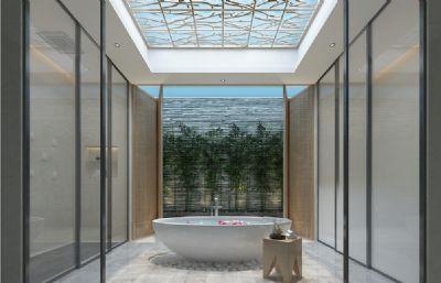 酒店大浴缸泡浴�g