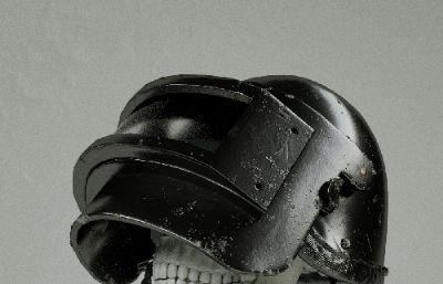 绝地求生三级盔+头骨,octane渲染