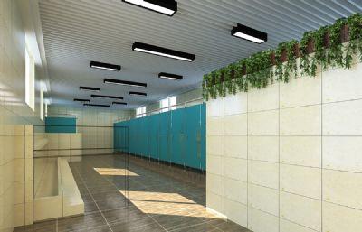 学校男卫生间,男厕所