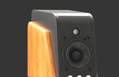 惠威M200MKⅢ音箱模型