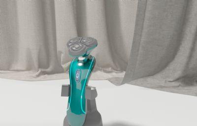 电动剃须刀,刮胡刀max模型