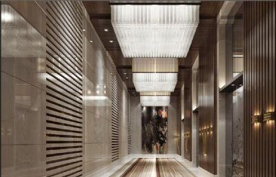 酒店��所玄�P走廊